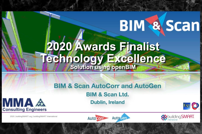 BIM&Scan nominated for Building Smart Award